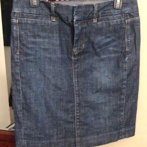 Women's Gap jean skirt